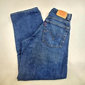 Levi's Loose Straight Jeans Boys 14 Slim